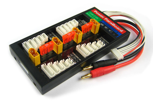 HIGH CURRENT 40A PARALLEL CHARGE BOARD (XT60 ONLY) (W/ OVERCURRENT PROTECTION)