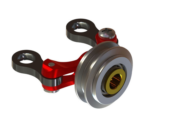 LX1773 - 180 CFX - Tail Pitch Slider Assembly Ver 2 - Red