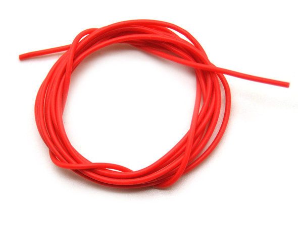 26 AWG SILICONE WIRE (RED 1M)