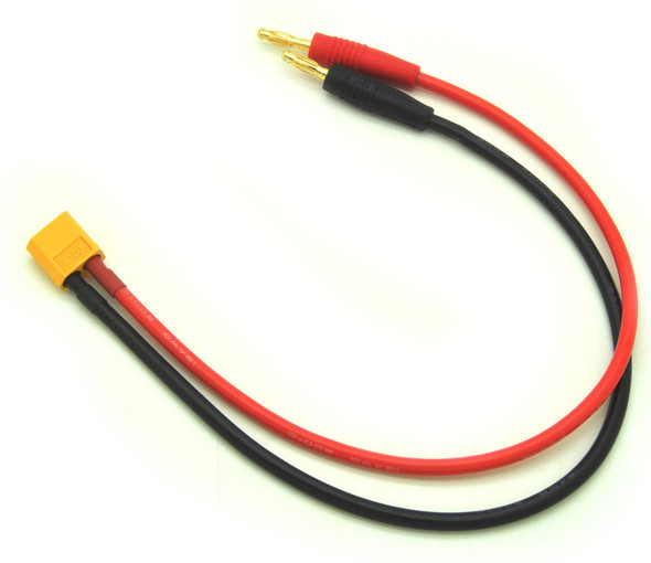 XT60 Charge Lead (12awg, 30cm wire)-1