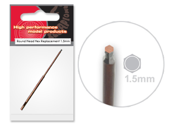 Scorpion High Performance Tools - 1.5mm Round Head Hex Replacement