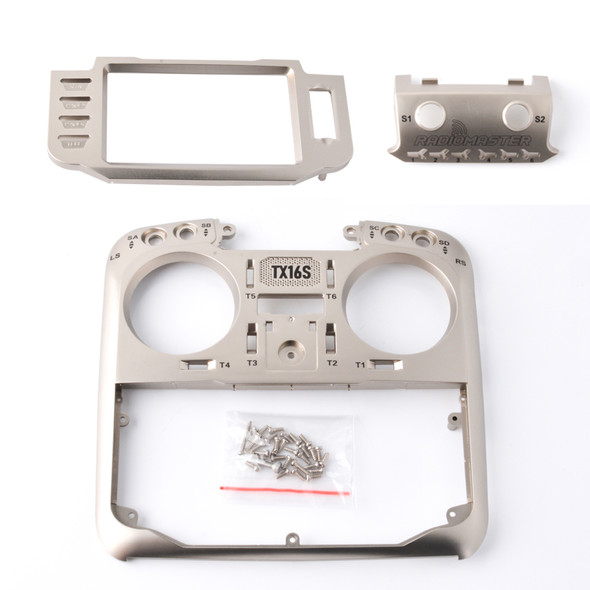 RADIOMASTER TX16S FACE PLATE (GOLD)