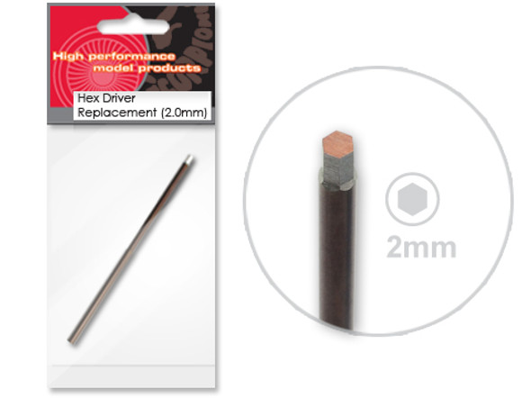 Scorpion High Performance Tools - 2.0mm Hex Driver Tip Replacement