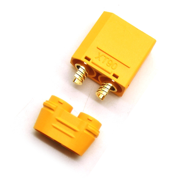 XT90 Connector Male with Wire Sleeve