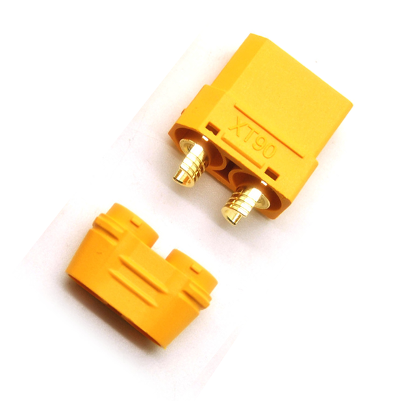 XT90 Connector Female with Wire Sleeve