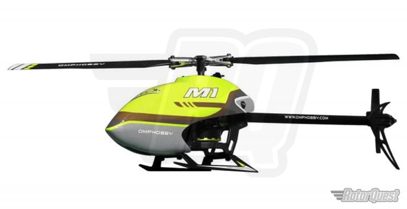 OMP M1 BNF Helicopter (SFHSS Version) - Yellow