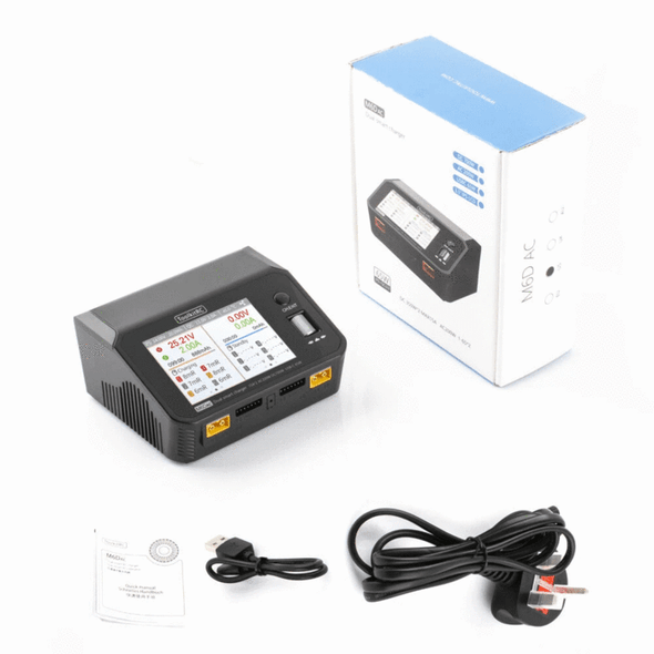 ToolkitRC M6DAC AC/DC Dual Channel Smart Charger