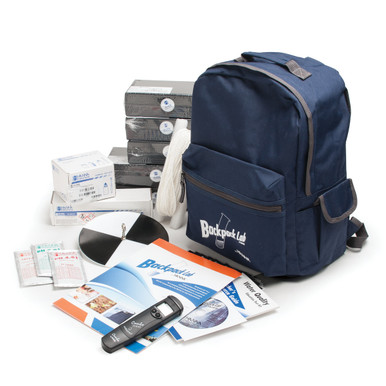 Backpack Lab Water Quality Educational Test Kit