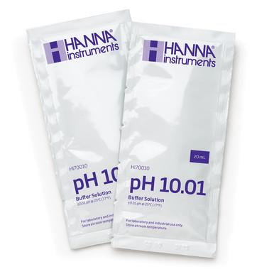 pH 10.01 Calibration Buffer Sachets (25 x 20 mL)