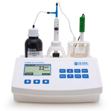 Sulfur Dioxide Mini Titrator for Wine