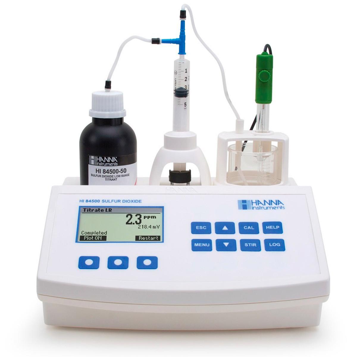 Sulfur Dioxide Mini Titrator for Wine