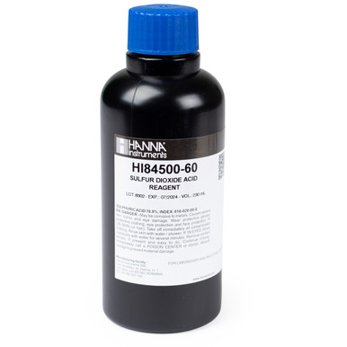 Acid Reagent for Free and Total Sulfur Dioxide
