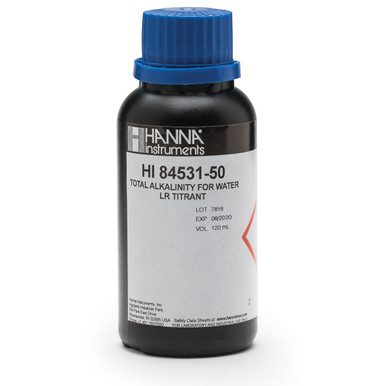 Low Range Titrant for Titratable Alkalinity in Water Mini Titrator