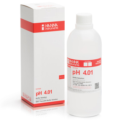 pH 4.01 Calibration Buffer Solution (500 mL)