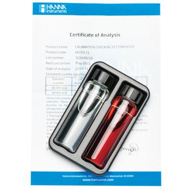 Fluoride Low Range Checker® HC Calibration Check Set