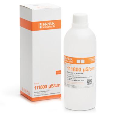 111800 µS/cm Conductivity Standard (500 mL Bottle)