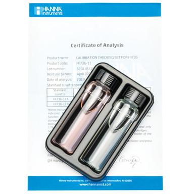 Phosphorus Ultra Low Range Checker® HC Calibration Check Set