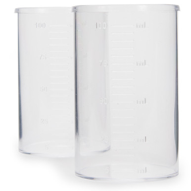 Plastic Beaker Set, 100 mL (10)