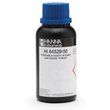 Low Range 20 Titrant for Titratable Acidity in Dairy Mini Titrator