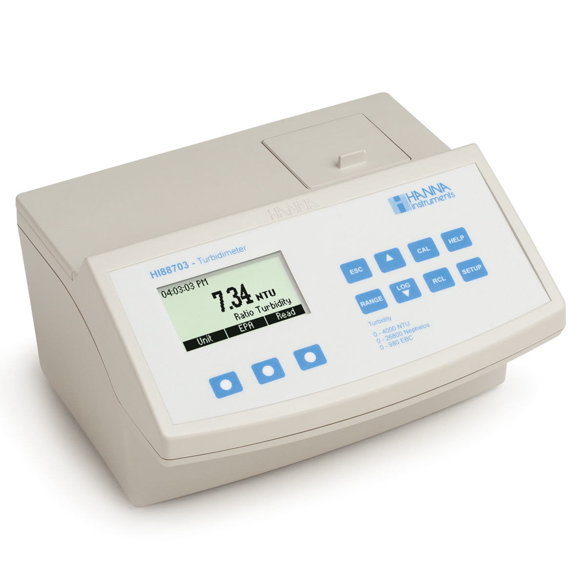 EPA Compliant Benchtop Turbidity Meter