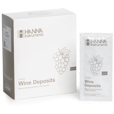 Cleaning Solution for Wine Deposits (25 x 20 mL Sachets)