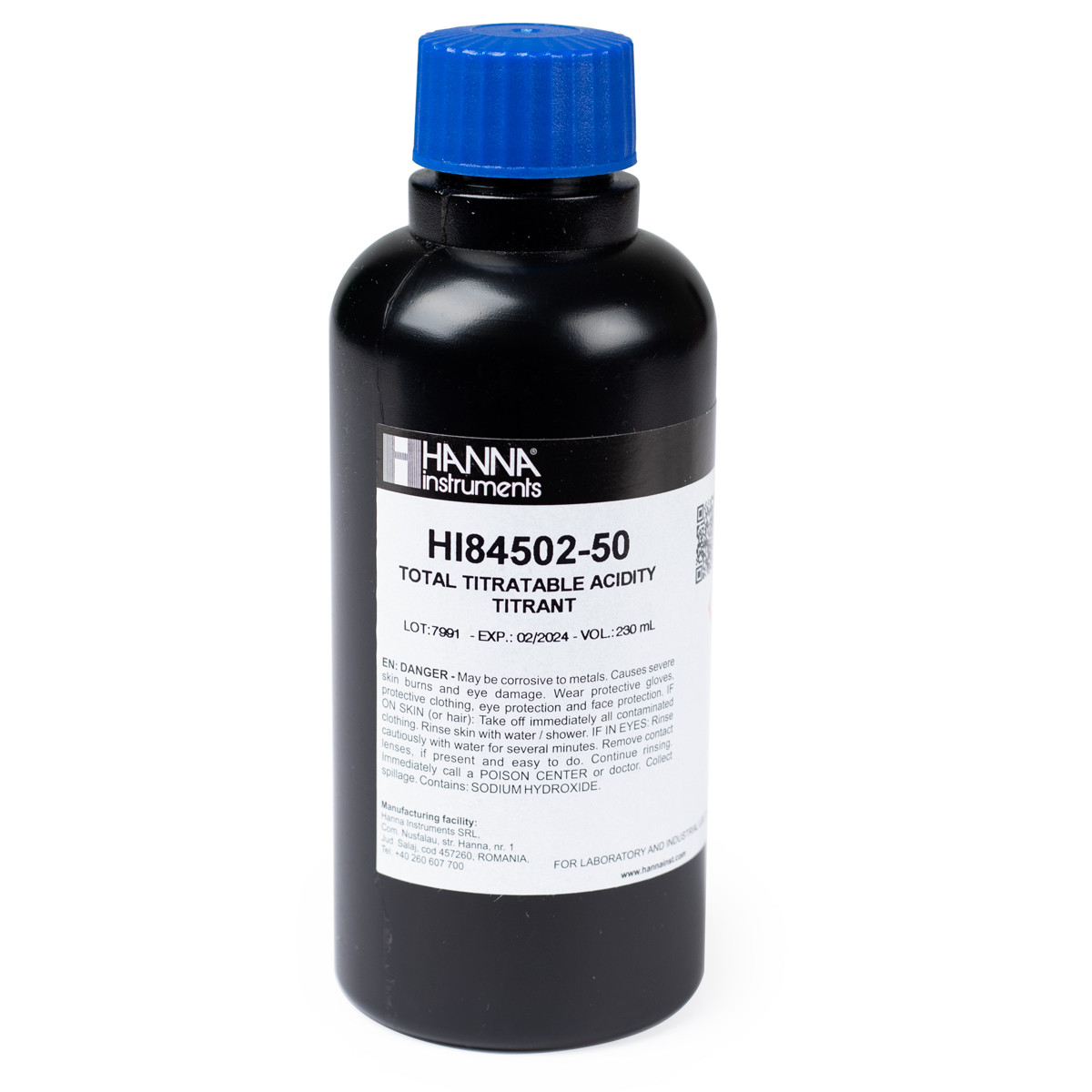 Titrant for Titratable Acidity in Wine Mini Titrator