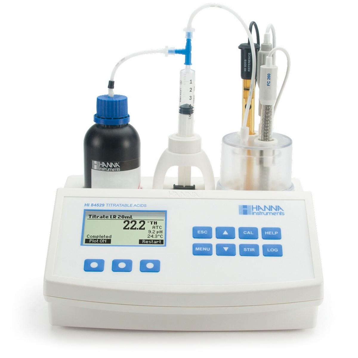 Mini Titrator for Measuring Titratable Acidity