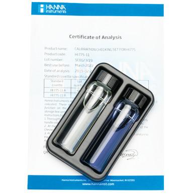 Freshwater Alkalinity Checker® HC Calibration Check Set