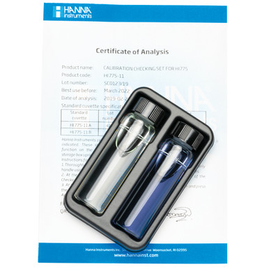 Freshwater Alkalinity Checker® HC Calibration Check Set