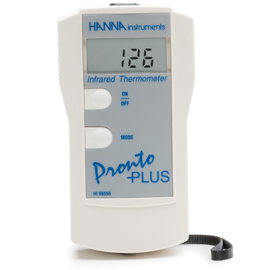 Infrared and Contact Thermometer for the Food Industry