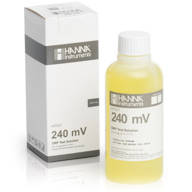 240 mV @ 25<sup>°</sup>C ORP Test Solution (230 mL)