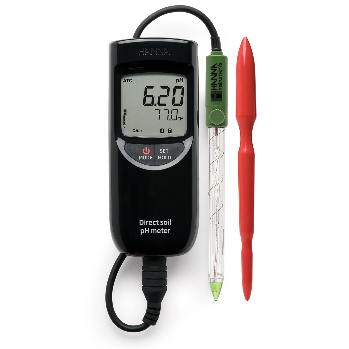 Direct Soil Measurement pH Portable Meter