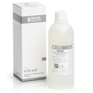 470 mV @ 25<sup>°</sup>C ORP Test Solution (500 mL)