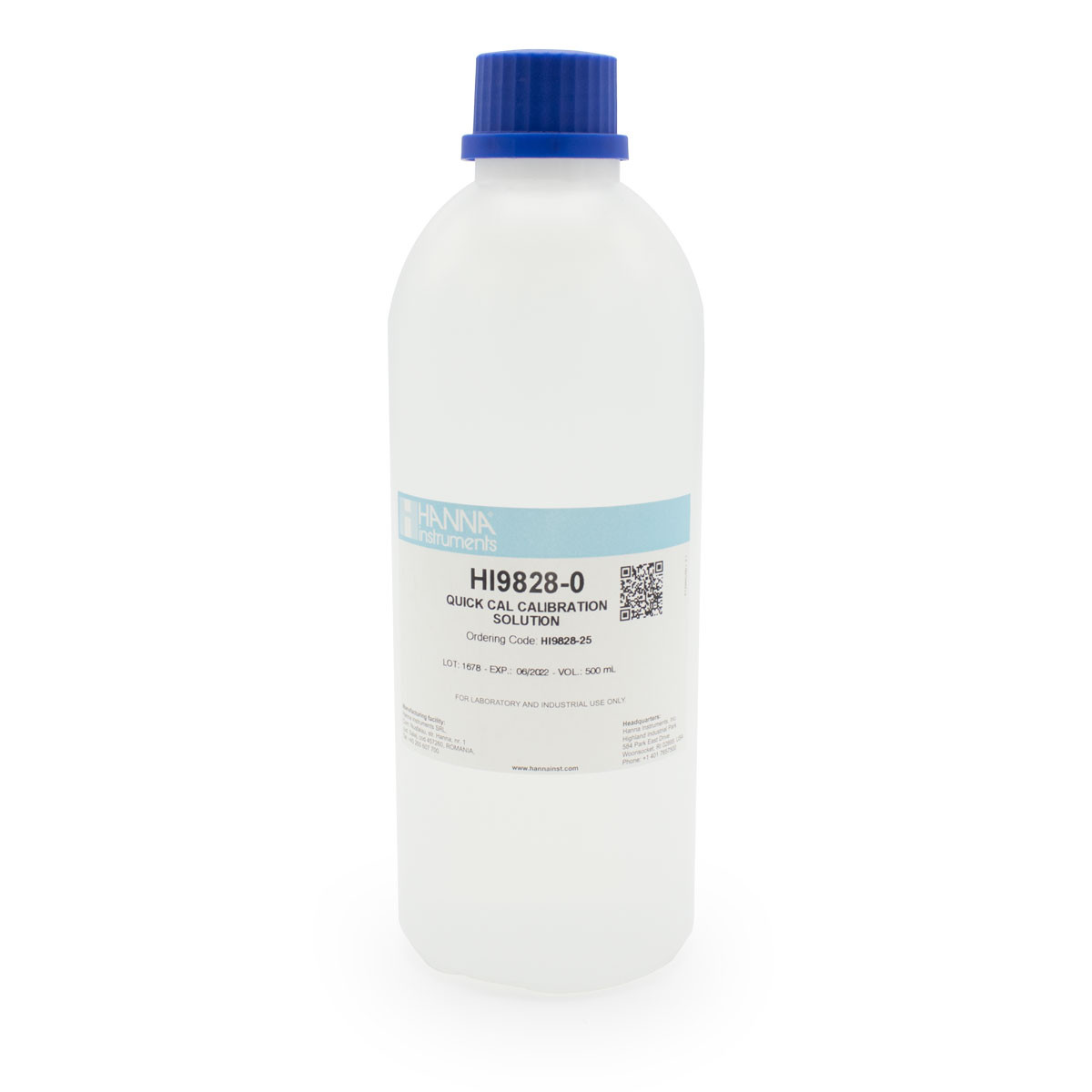 Quick Calibration Solution (500mL Bottle)