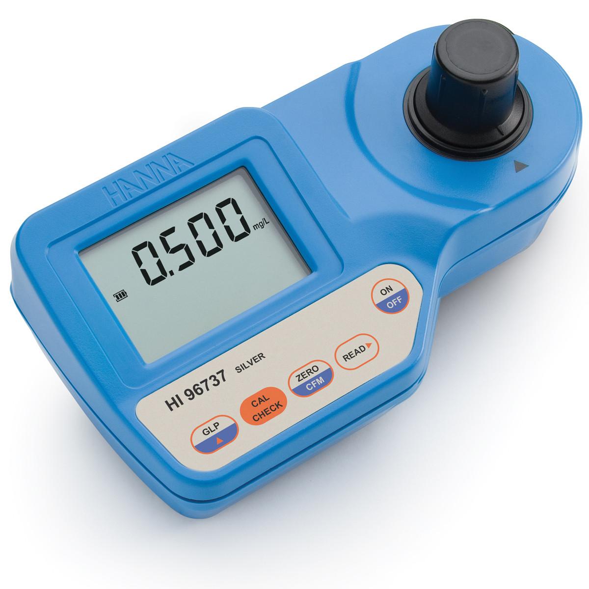 Silver Portable Photometer