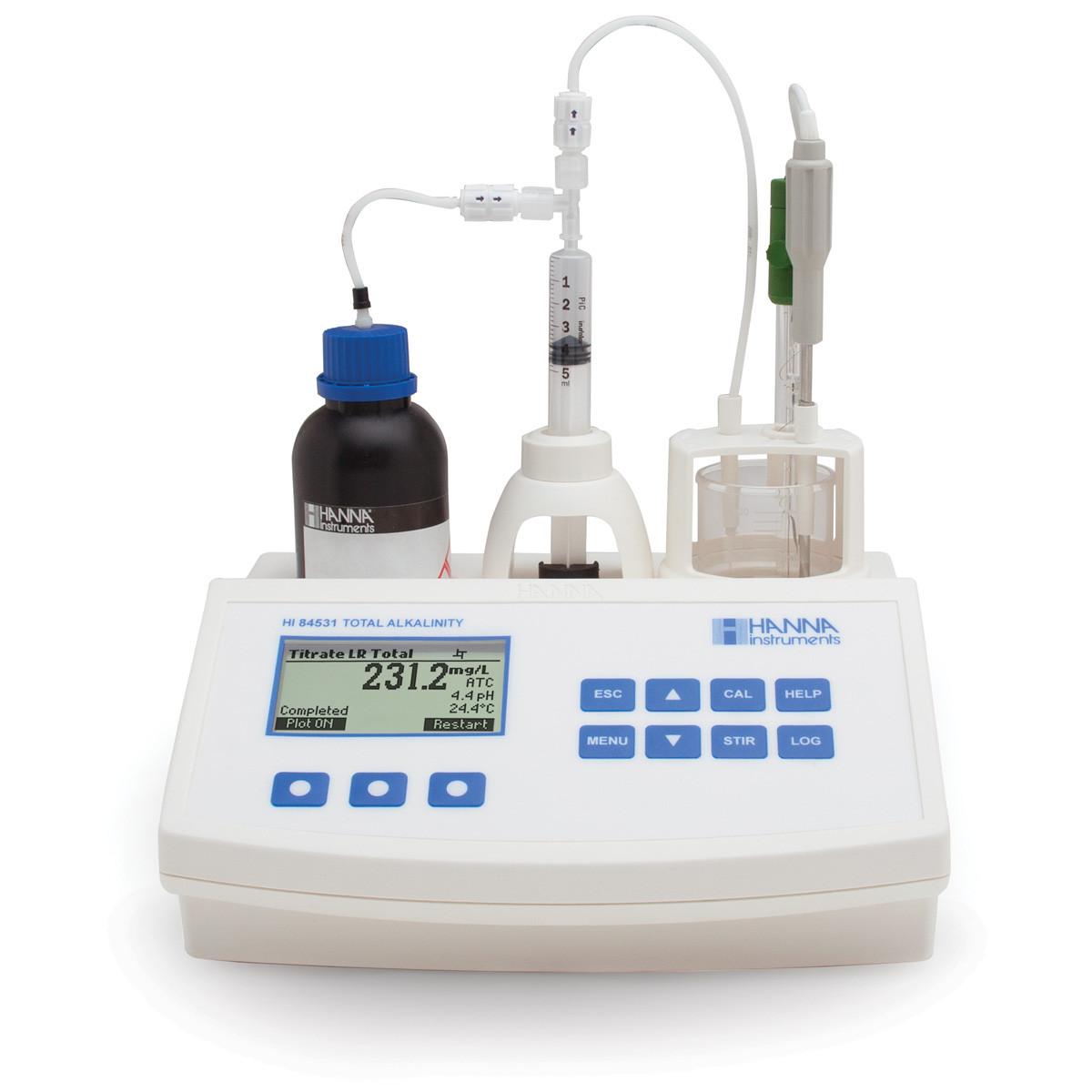 Mini Titrator for Measuring Titratable Alkalinity in Water and Wastewater