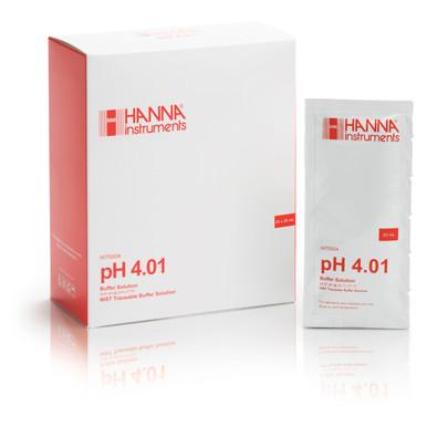 pH 4.01 Calibration Buffer Sachets (25 x 20 mL)