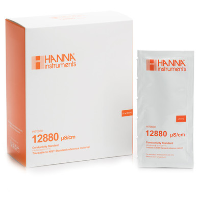 12880 µS/cm Conductivity Standard (25 x 20mL)