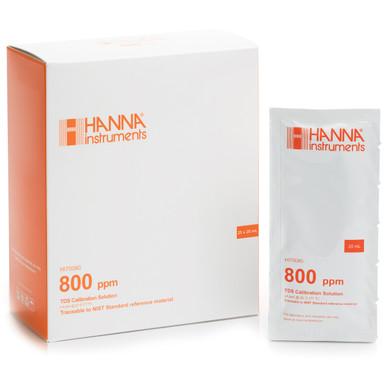 800 mg/L (ppm) TDS Standard Sachets (25 x 20 mL)
