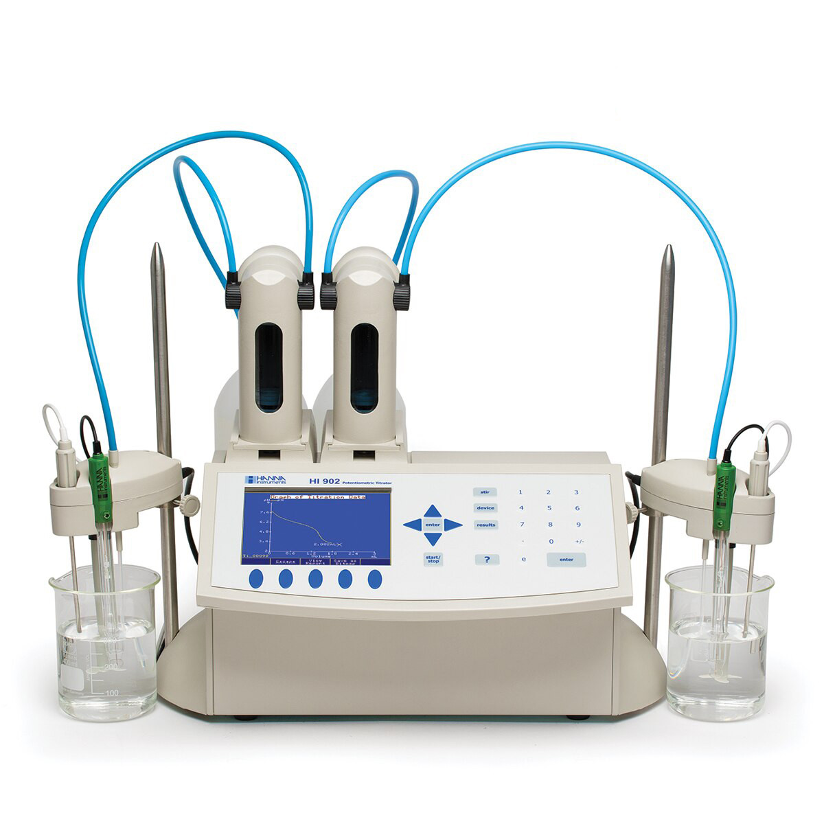 Automatic Potentiometric (pH/mV/ISE) Titration System