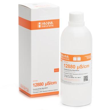 12880 µS/cm Conductivity Standard (500mL Bottle)