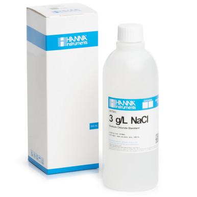 3.0 g/L NaCl Standard Solution (500 mL)