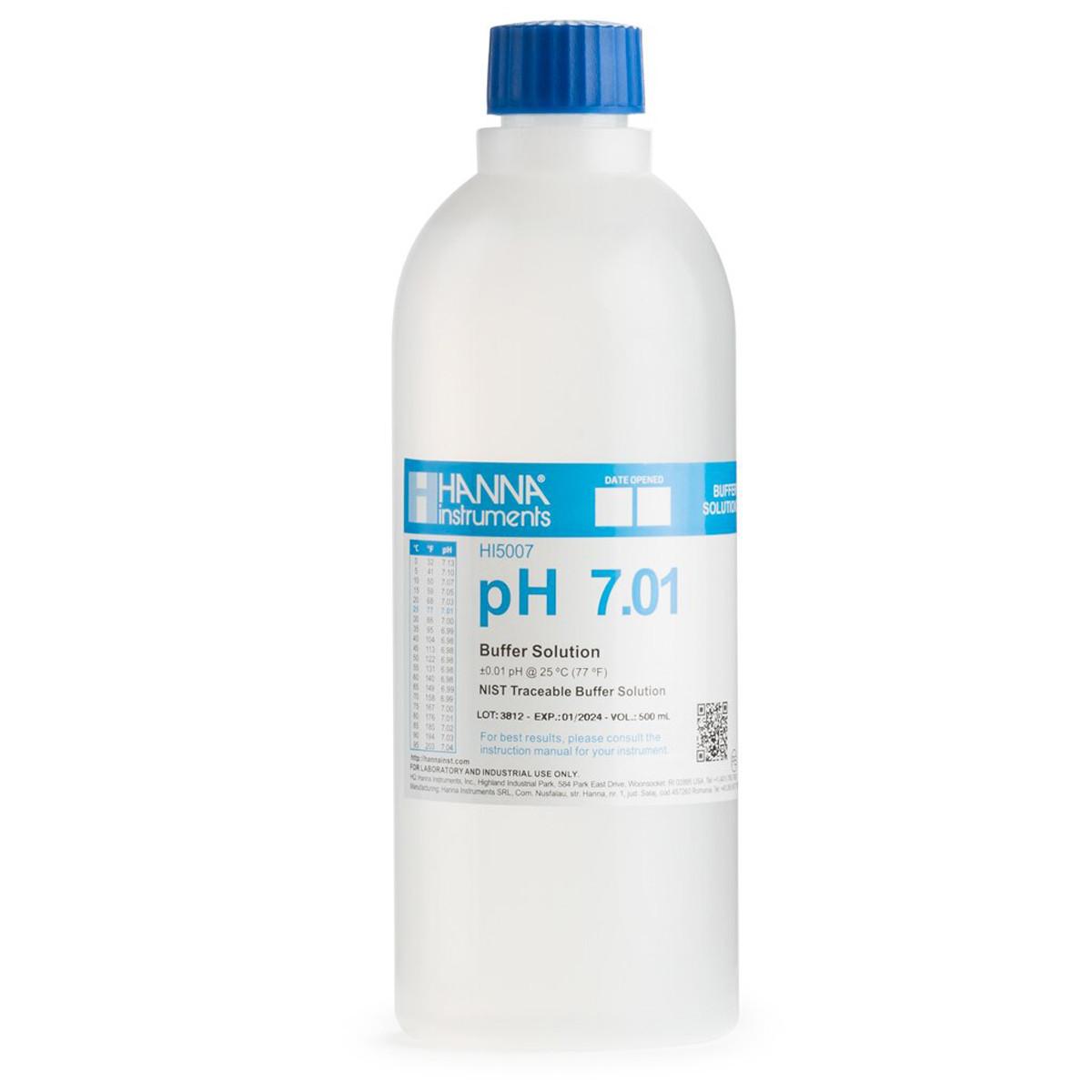 pH 7.01 Technical Calibration Buffer (500 mL)