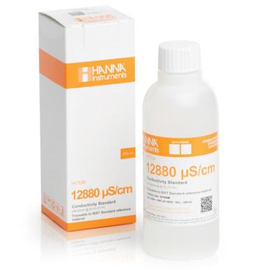 12880 µS/cm Conductivity Standard (230mL Bottle)