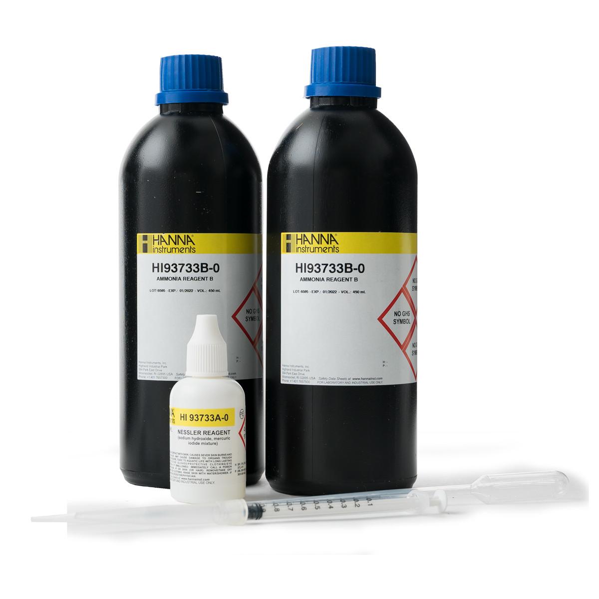 Ammonia High Range Reagents (100 tests)