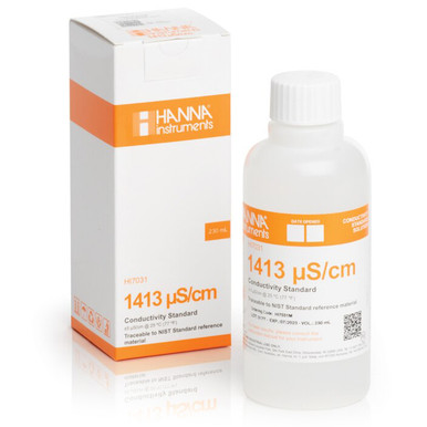 1413 µS/cm Conductivity Standard (230mL Bottle)
