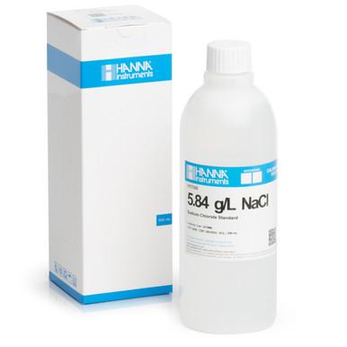 5.84 g/L NaCl Standard Solution (500 mL)