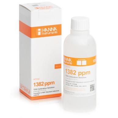 1382 mg/L (ppm) TDS Calibration Solution (230mL Bottle)