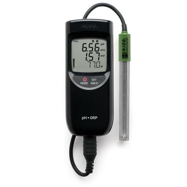 Waterproof Portable pH/ORP/Temperature Meter with Sensor Check