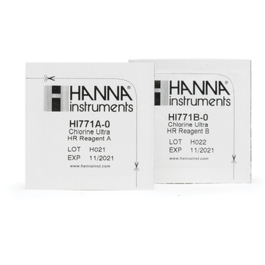 Chlorine Ultra High Range Checker® HC Reagents (25 Tests)